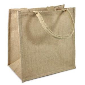 Medium Burlap Bag