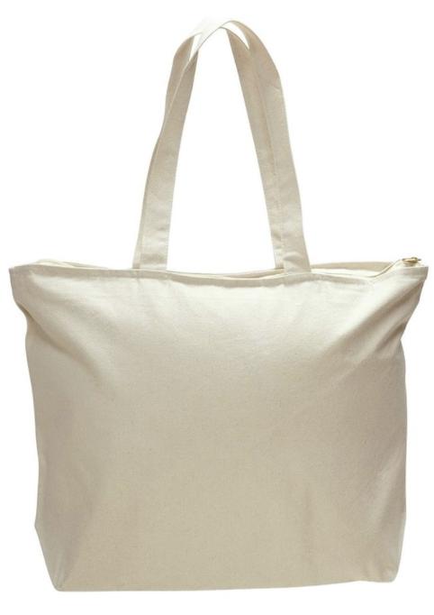 Cream Canvas Bag
