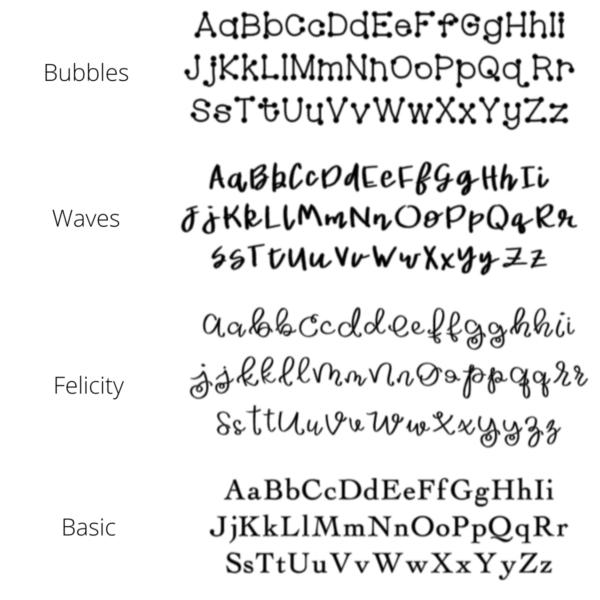 Custom Font Options